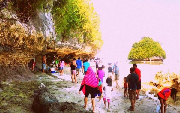 Tourists flock during weekends