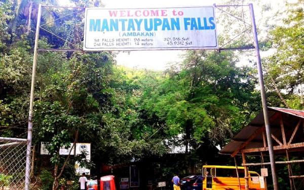 Welcome to Mantayupan Falls
