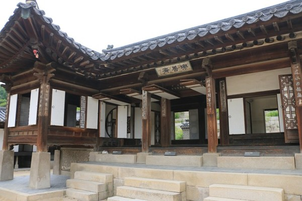 Well preserved buildings inside Changdeokgung Palace
