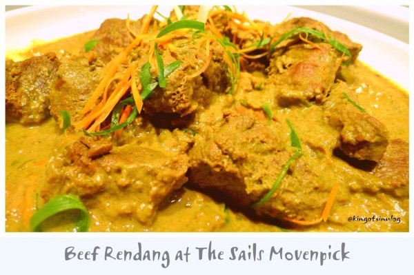 Beef Rendang at the Sails Movenpick