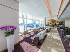 Etihad Airways premium lounge at JFK