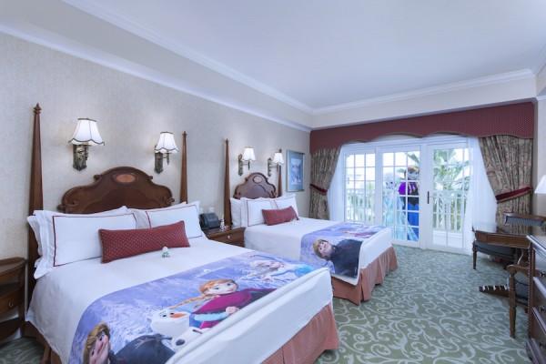 Frozen Themed Room at Hong Kong Disneyland Hotel