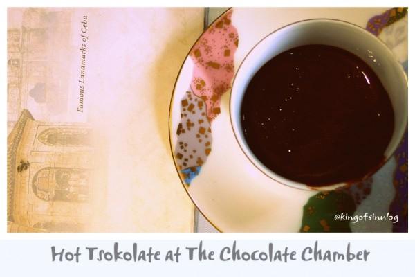 Hot Tsokolate at The Chocolate Chamber