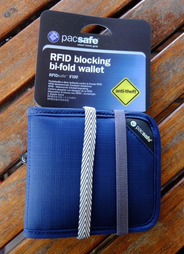 01eb96b6b5f Review: Pacsafe RFIDsafe V100 Bi-fold Wallet - Out of Town Blog