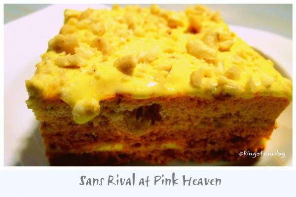 Sans Rival at Pink Heaven