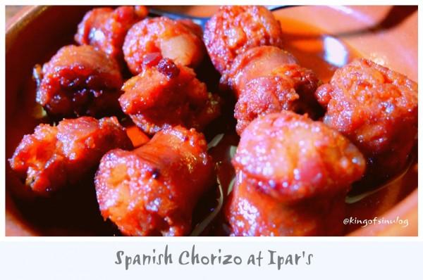 Spanish Chorizo at Ipars