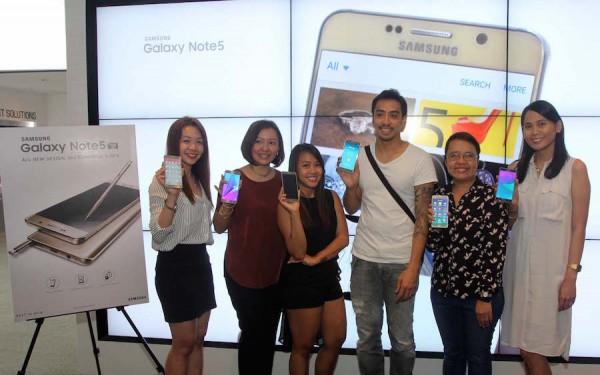 Uber Riders who won Samsung Galaxy Note5