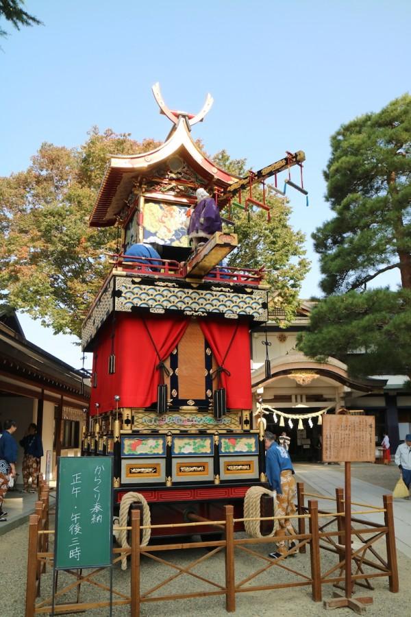 Festival Floats or Yatai