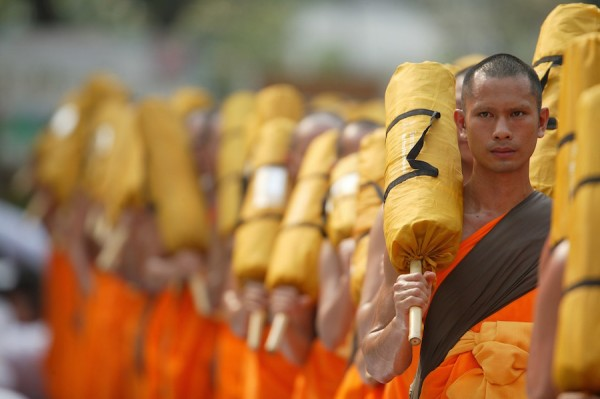 Buddhist Monks in Bangkok