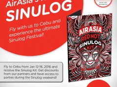 Get Sinulog Festival Party Passes From AirAsia