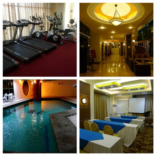 Gym, Hall, Pool and Function Room