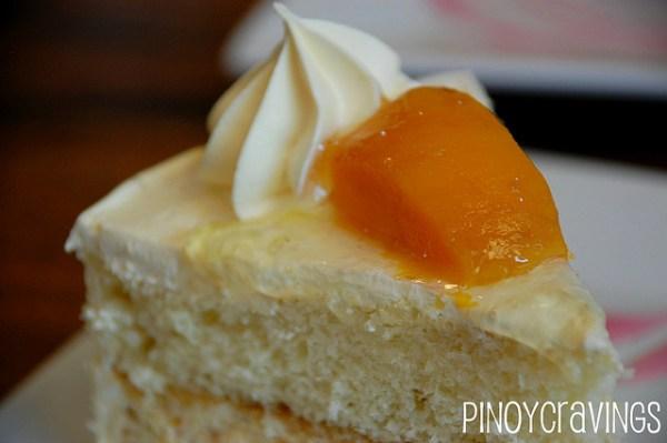 Mango Cake Slice