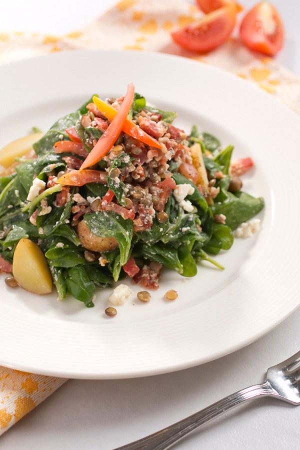 Mixed Greens at Taza Fresh Table