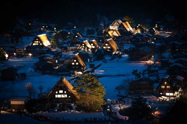 Shirakawa-go during Winter