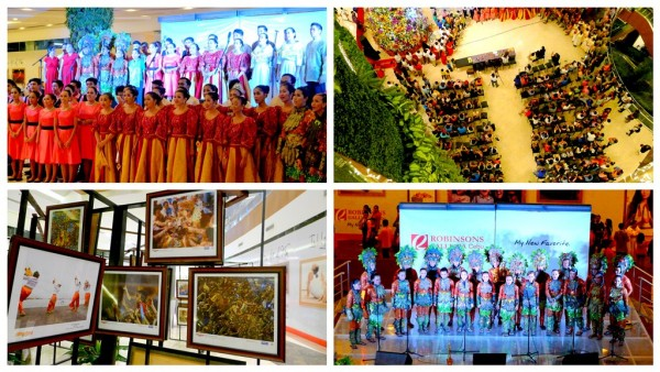 Sinulog Choir Competition at Robinsons Galleria