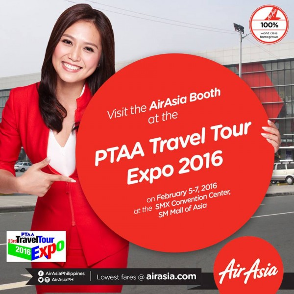 lowest fares - AirAsia Seat Sale at Travel Tour Expo 2016