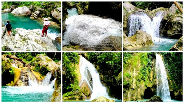 Chasing waterfalls in Ginatilan