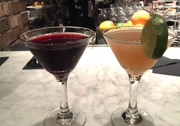Cocktails for two in Boston