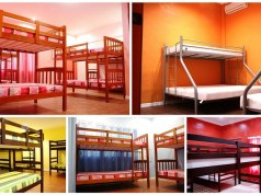 Dormitory type rooms
