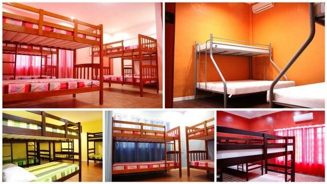 Dormitory type rooms