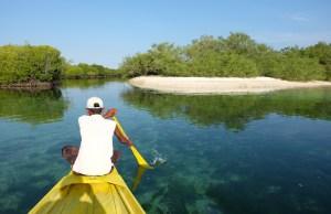 Exploring Great Sta Cruz Island Lagoon