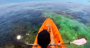 Kayaking in Boracay