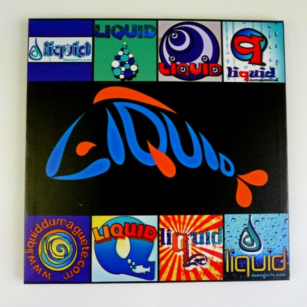 Liquid Logo Conceptualization