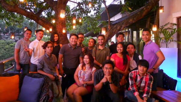 Cebu Food Crawl Participants