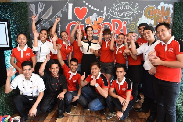 Choobi Choobi Team with Erich Gonzales