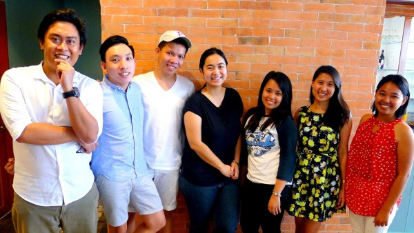 Crawlers with Casa Verde Marketing Manager Therese Galang