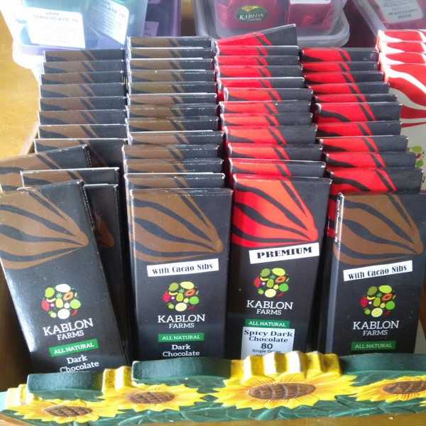 Kablon organic chocolate bars