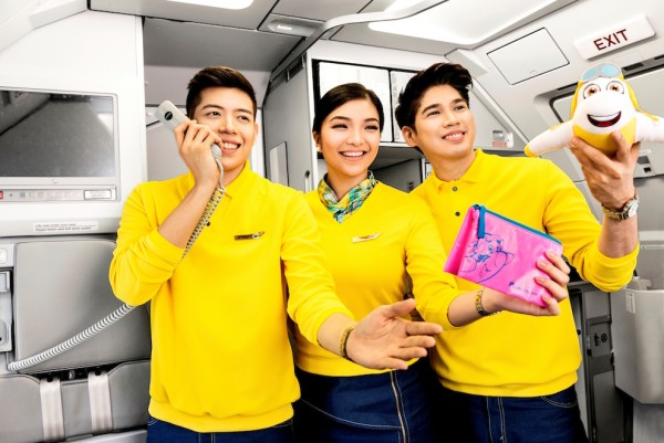 New Uniforms for Cebu Pacific Flight Attendants