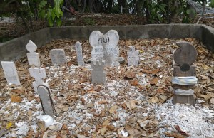 These Badjao grave markers are also called Sundok