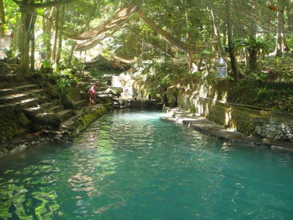 A glimpse of the first and second natural spring pools