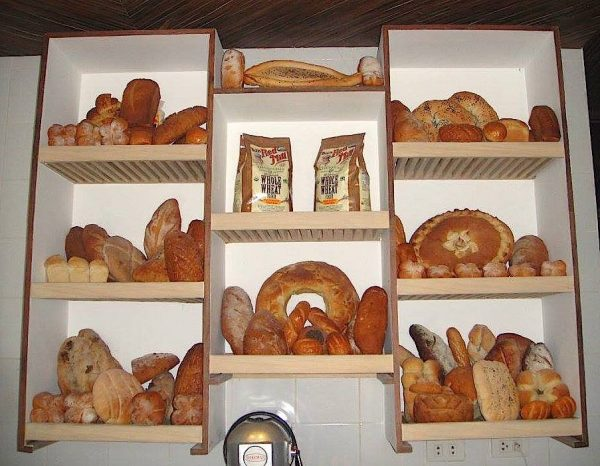 A heavenly assortment of breads baked with healthy grains and flour at Fig Mediterranean Restaurant