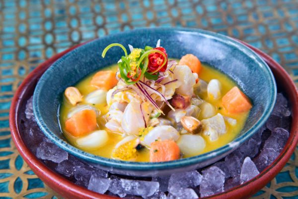 Ceviche Mixto at Coya Dubai