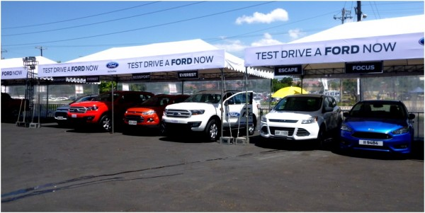 Choose among these Ford Test Drive Units