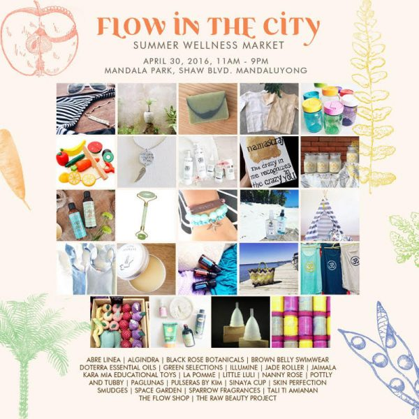 Flow In The City Summer Wellness Market