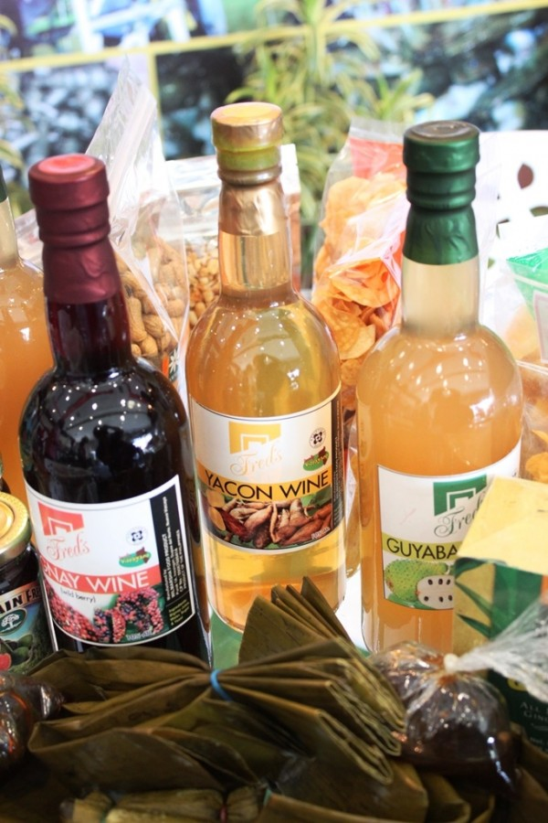 Indigenous wines - Bignay, yacon, and guyabano