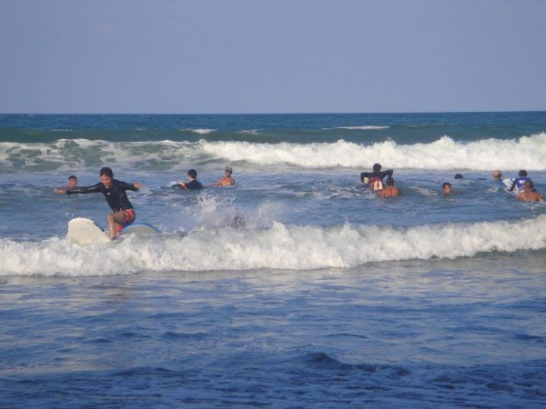 Non-stop waves begets non-stop surfing action in Baler