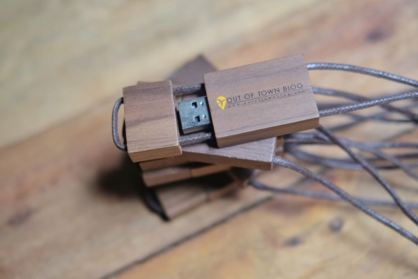 Out of Town USB Flash Drive