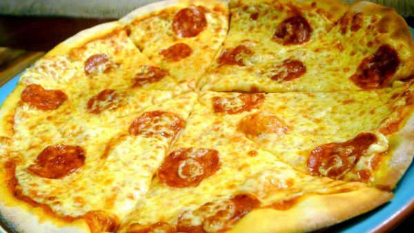 Pepperoni Salame Pizza at PHP288