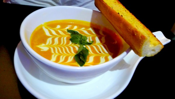 Tomato Basil Cream Soup at PHP190