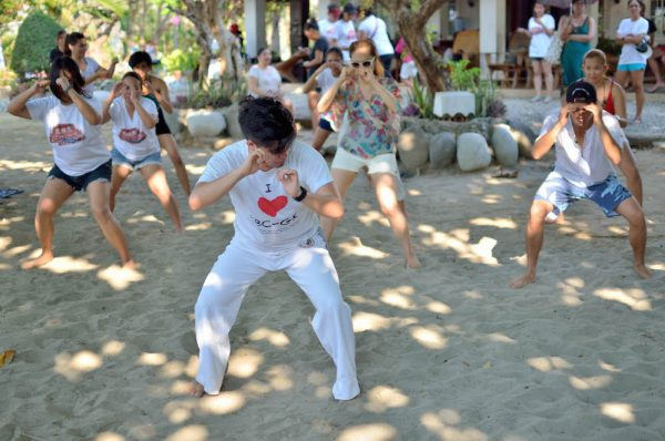 Avtivities at Human Nature's Labor Day Weekend in La Union