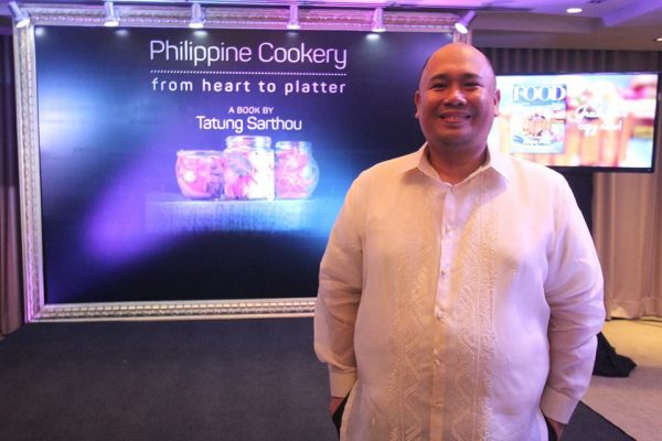 Chef Tatung's Philippine Cookery From Heart to Platter