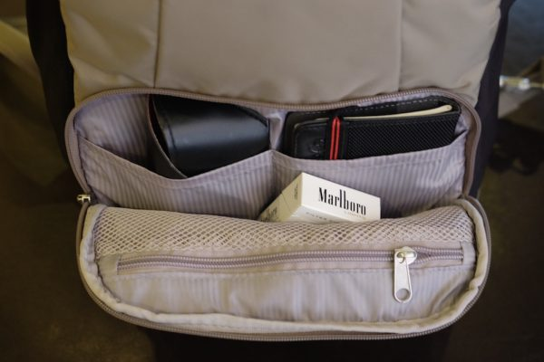 More compartments for your travel gears and accessories