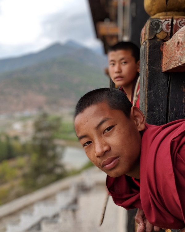 Nyamai Zam Footbridge, Paro, Bhutan by Riken Patel via Unsplash