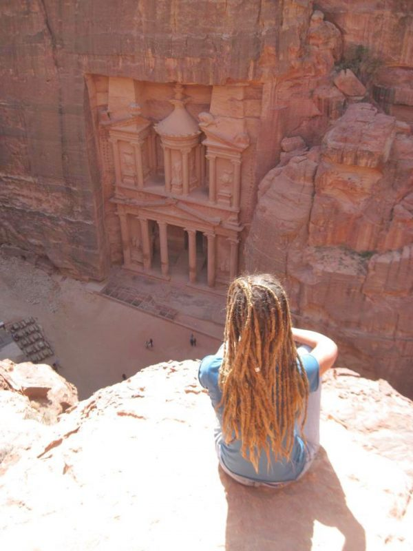 Sue Bedford in Petra Jordan