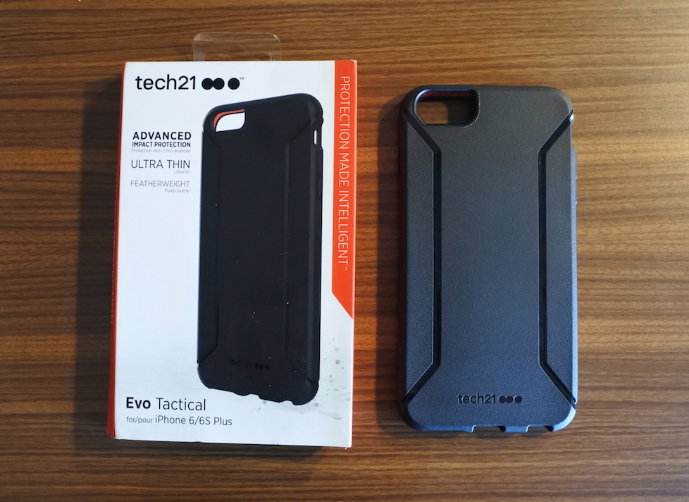 sports shoes 1bd23 d51fc Review: Tech21 EVO Tactical Case For Apple's iPhone 6 Plus and 6s ...