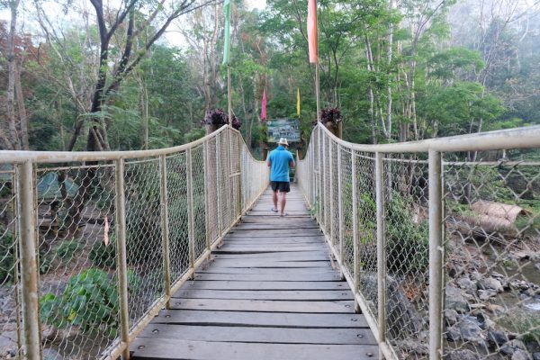 Wooden Bridge to Daranak Falls in Tanay Rizal